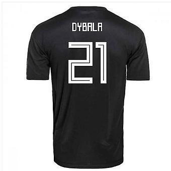 2018-2019 Argentina Away Adidas Football Shirt (Dybala 21) - Kids