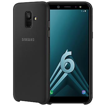 Official Samsung Dual-layer cover, Backcover for Samsung Galaxy A6 - Black