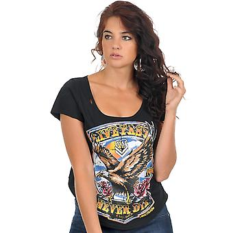 Metal Mulisha Black The Sturge Womens T-Shirt