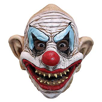 Kinky The Clown Horror Joker Sinister Creepy Mens Costume Overhead Latex Mask
