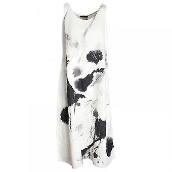Crea Concept Abstract Print Sleeveless Dress & Slip