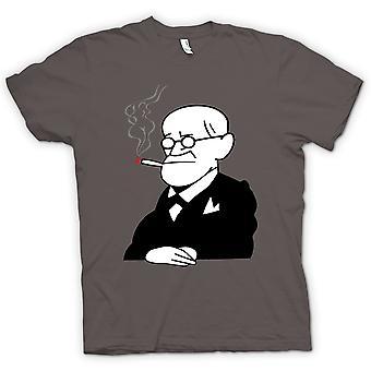 Womens T-shirt - Sigmund Freud - Psychology - Cartoon