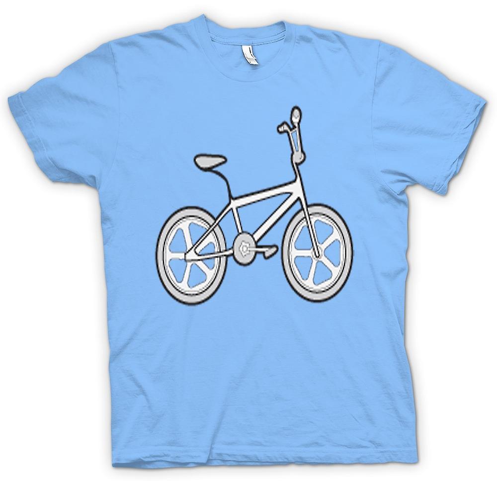 Mens T-shirt-Vintage 80er Jahre BMX Rad