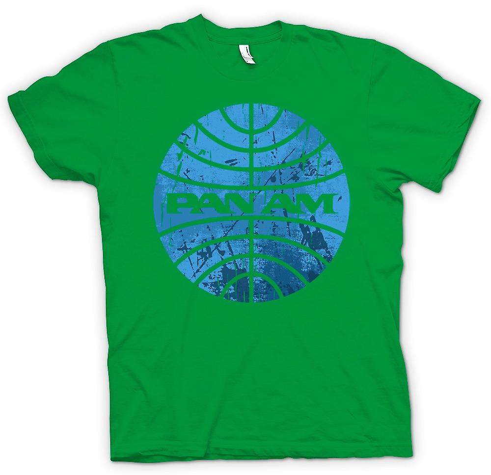 Herren T-Shirt - PAN AM Airlines Logo - Cool