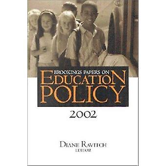 Papeles de Brookings en política educativa - 2002 por Diane Ravitch - 9780815