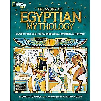 Tesoro della mitologia egizia: storie classiche di dèi, Dee, mostri & mortali (National Geographic Kids)