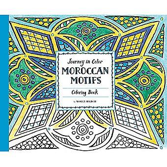 Resa i färg: marockanska motiv målarbok