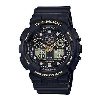 Casio analog-digital Watch quartz men with resin band GA-100GBX-1A9ER