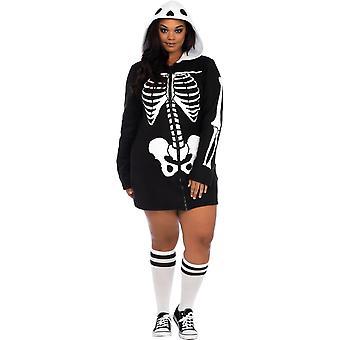 Cozy Skeleton Adult Costume
