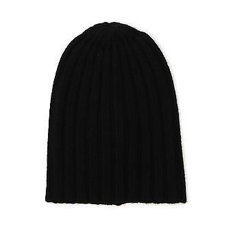 Laneus Black Cashmere Hat