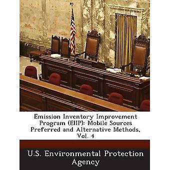 برنامج تحسين جرد الانبعاثات إيييب المصادر المتنقلة أساليب المفضل والبديل المجلد 4 من وكالة حماية البيئة في الولايات المتحدة
