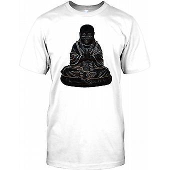 Buddha - Neon Praying God Mens T Shirt