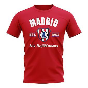 Atletico Madrid Established Football T-Shirt (White)