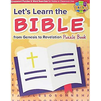 Let's Learn the Bible from� Genesis to Revelation Puzzle Book 48pg