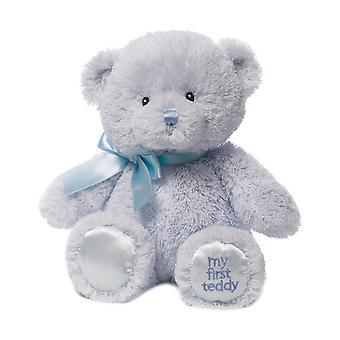 Gund My 1St Teddy (Small Blue)
