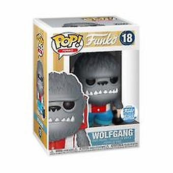 Funko Pop - Wolfgang 18 - Funko Shop Limited Edition - Plastik + Protector
