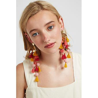 Louche Sapphira Tassel Earring