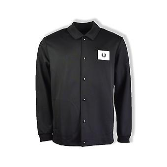 Fred Perry Acid Brights Coach Jacket (Black)