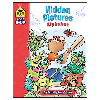 Activity Workbooks 32 Pages Hidden Pictures Alphabet Ages 5+ Szact 02197