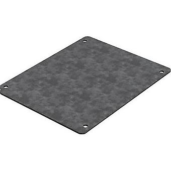 Mounting plate (L x W) 142 mm x 112 mm Steel plate Deltron Enclosures 4MP1616 1 pc(s)