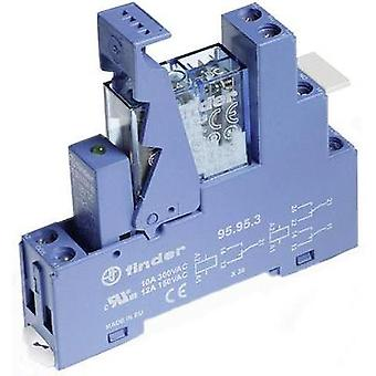 Finder 49.52.9.012.0050 Relay Interface Module 2 changeovers 12 Vdc IP20