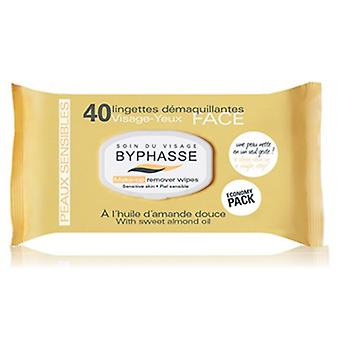 Byphasse Sensitive Skin Cleansing Wipes 40 Units
