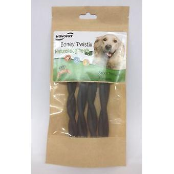Novopet Boney Twistix Veal (Chiens , Snacks Et Friandises , Hygiene Dentaire)