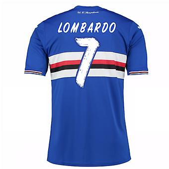 2016 / 17 Sampdoria Home Shirt (Lombardo 7) - Kinder