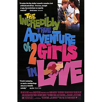 The Incredibly True Adventure of 2 Girls in Love Movie Poster (11 x 17)