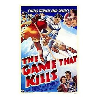 The Game That Kills Movie Poster (11 x 17)