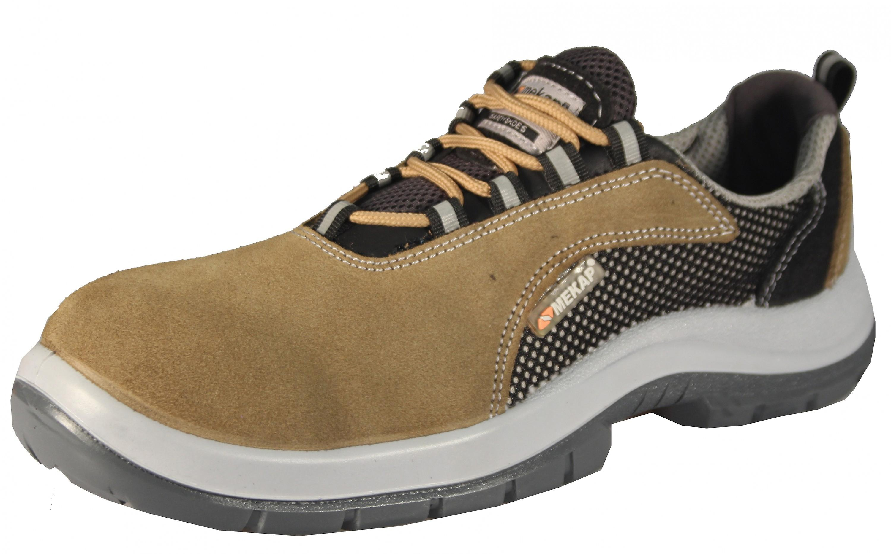 PAJERO ATP 11 work safety shoes of sneaker S1 SRC ESD suede leather of shoes