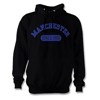 Manchester City Football 1880 établi Hoodie