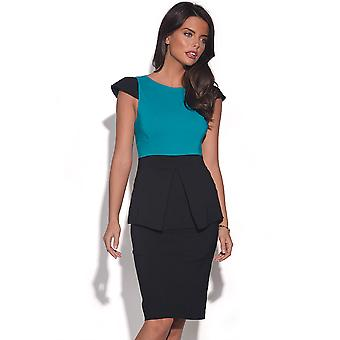 Vesper Hannah Peplum Pencil Dress
