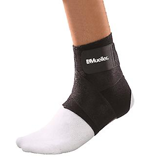 Mueller Ankle Support with Straps - Black