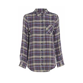 Long Sleeve Check Shirt TP554-6