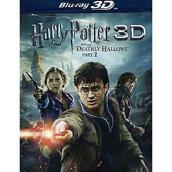 Harry Potter & Endeligt Hal del 2 (W/DVD) [Blu-ray] USA importerer