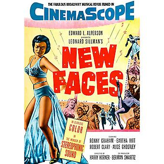 New Faces [DVD] USA import