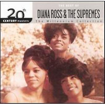 Diana Ross & the Supremes - Millennium samling-20th århundrede skibsførere [CD] USA importerer