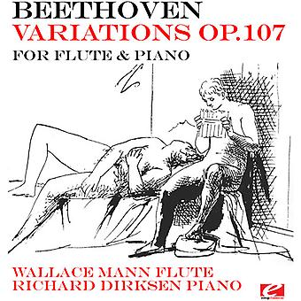 Wallace Mann - Beethoven: Tien nationale Airs met variaties voor [CD] USA import