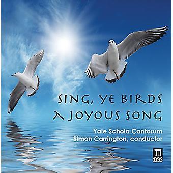 Taverner / Gibbons / Tallis - Sing Ye Birds a Joyous Song [CD] USA import