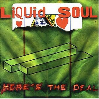 Liquid Soul - Here's the Deal [CD] USA import
