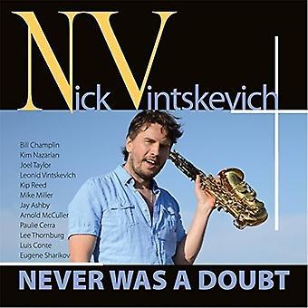 Nick Vintskevich - aldri var en tvil [DVD] USA importere