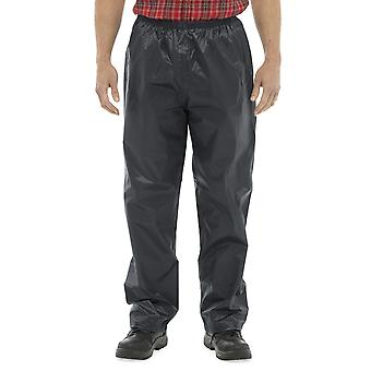 Mens Storm Ridge Long Durable Elasticated Outdoor Waterproof Trousers