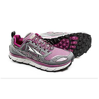 Altra Lone Peak 3.0 Neoshell Low Womens Shoes Gray/Purple