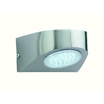 Applique da parete Firstlight industriale in acciaio inox Outdoor LED Spot