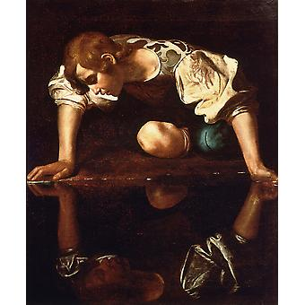 Caravaggio - Narcissus Light Poster Print Giclee