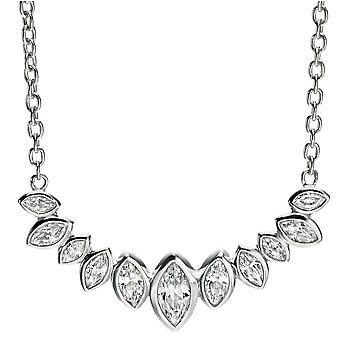 925 srebrny naszyjnik modne tlenku cyrkonu