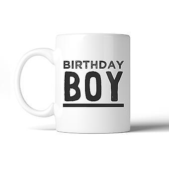 Birthday Boy Ceramic Coffee Mug Gift Unique Birthday Gift For Son