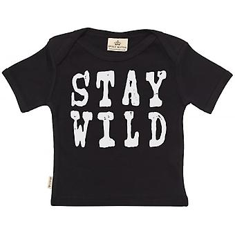 Spoilt Rotten STAY WILD Short Sleeve Baby T-Shirt