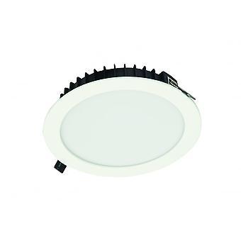 LED Robus evigheten 25W LED infällda PL typ Downlight, 230mm, Cool White med 1-10V ljusreglering